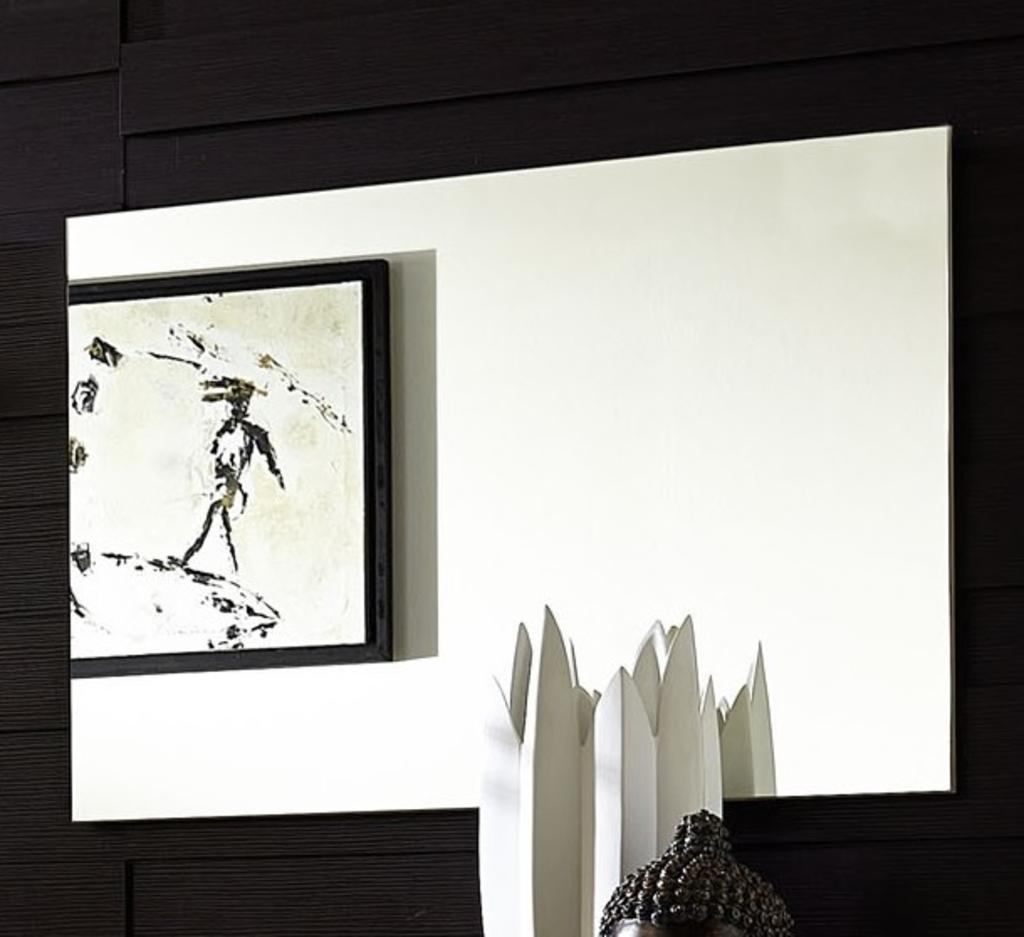MeubelTop: Apex Eiken Wandspiegel 75x53cm van Alamania Woonkamer