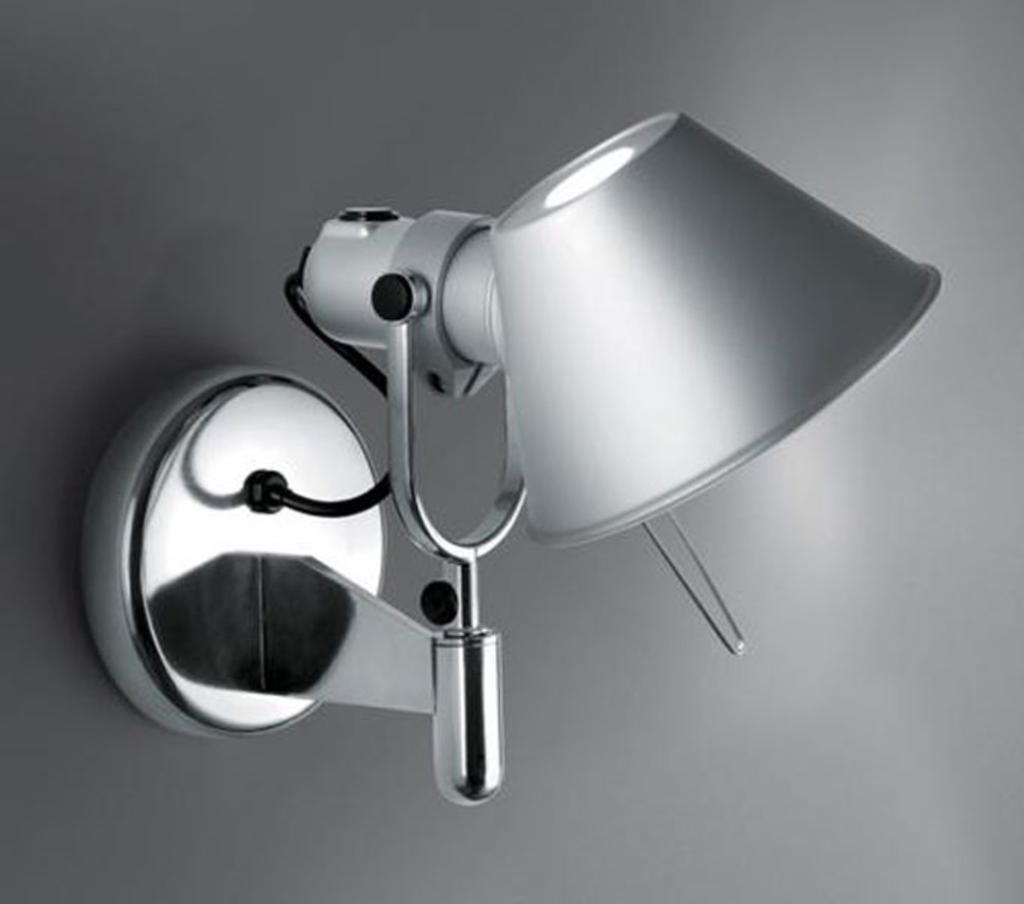 MeubelTop: Artemide Wandlamp Tolomeo Faretto - Schakelaar (aluminium ...