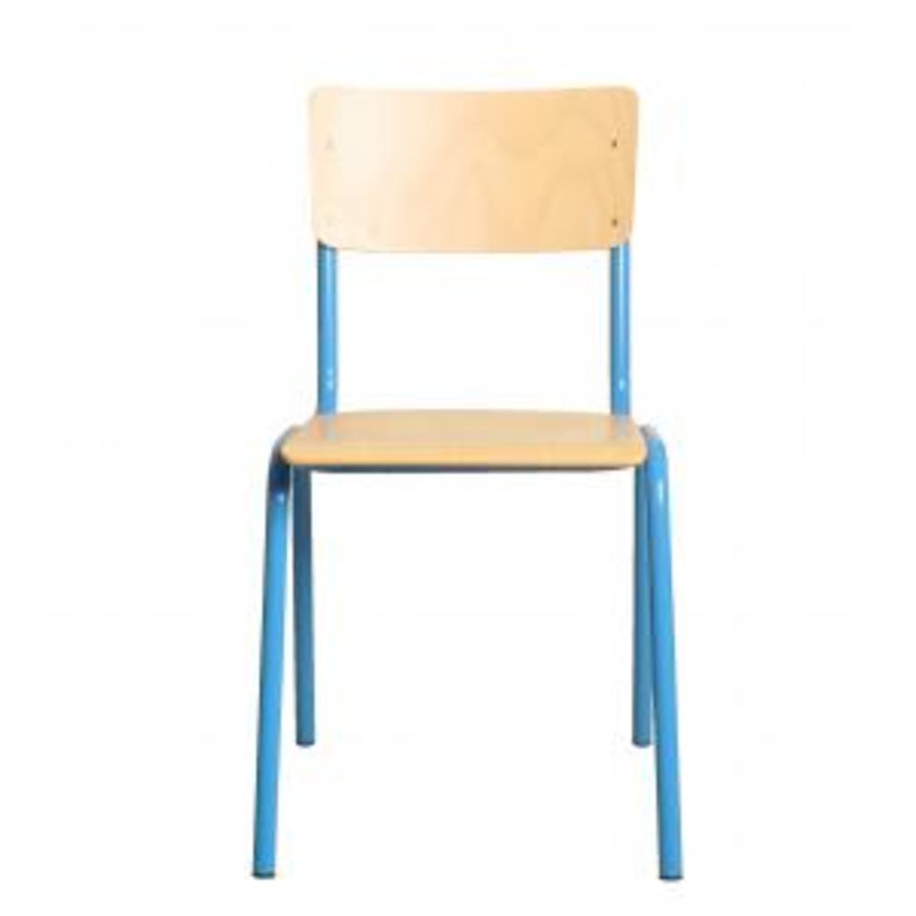 Meubeltop back to school stoel blauw van lilians house for Merk stoelen