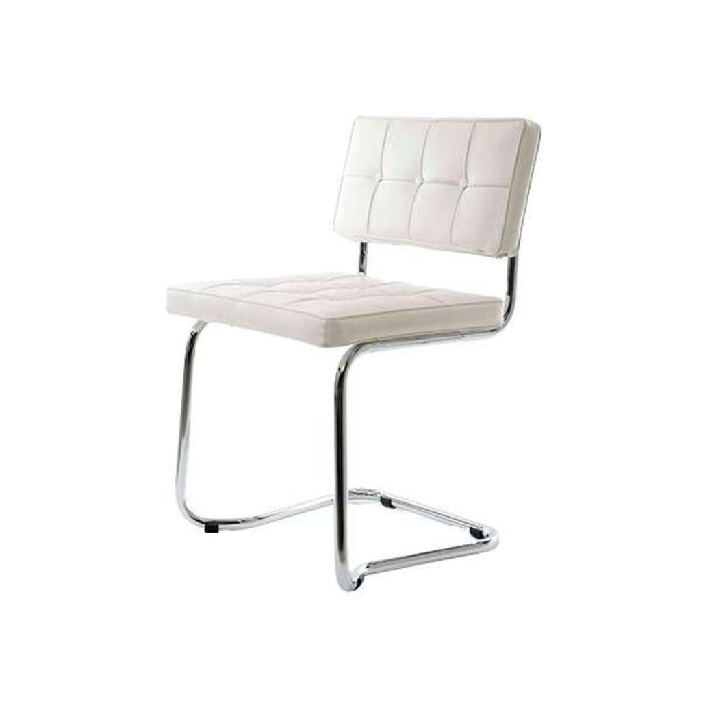 Meubeltop bauhaus stoel wit van robin design stoelen for Bauhaus design stoelen