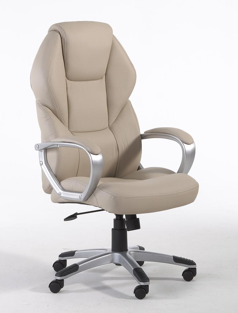 Meubeltop bureau stoel detroit beige van ergosit misc for Bureau stoel
