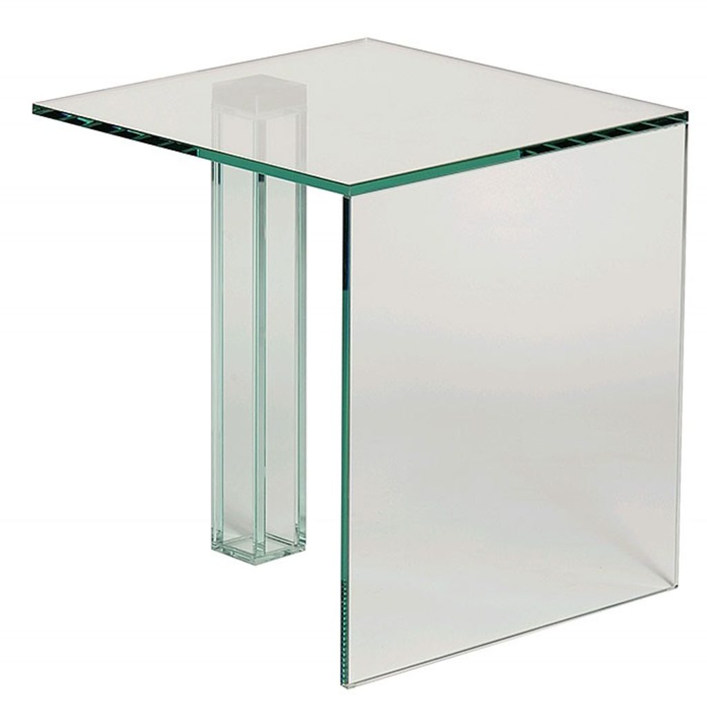 Bijzettafel Vierkant Glas.Meubeltop Davidi Bijzettafel Glazen Poot Vierkant Van Davidi Tafels