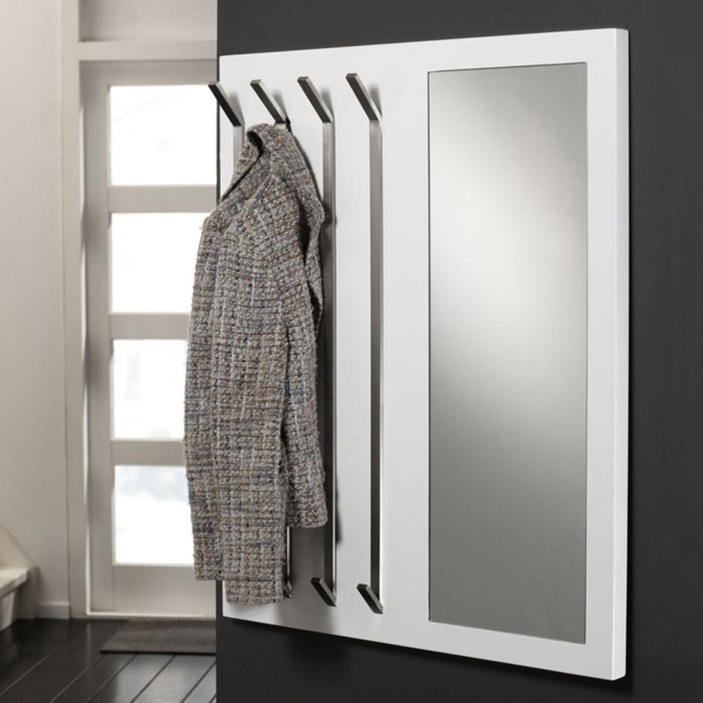 meubeltop davidi design garderobe 4 haaks spiegel van davidi design kapstokken en hangers hal. Black Bedroom Furniture Sets. Home Design Ideas