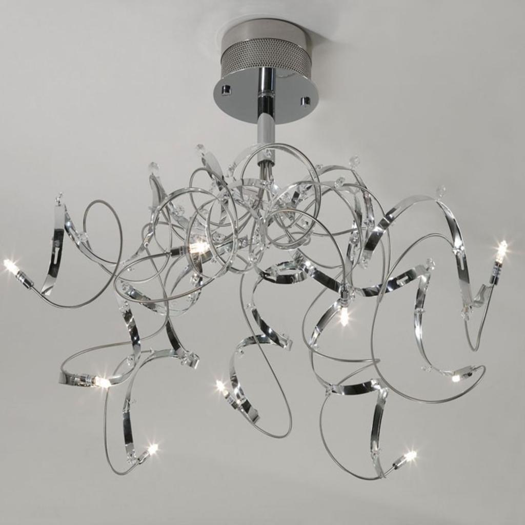 Meubeltop davidi design plafondlamp glamour van davidi for Design plafondlamp