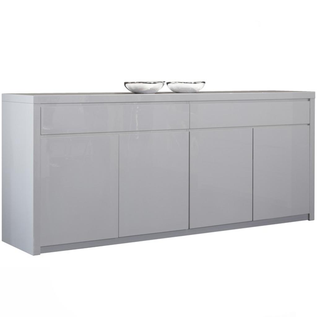 ... Dressoir / Wit Hoogglans van Davidi Tafels, bijzettafels en dressoirs