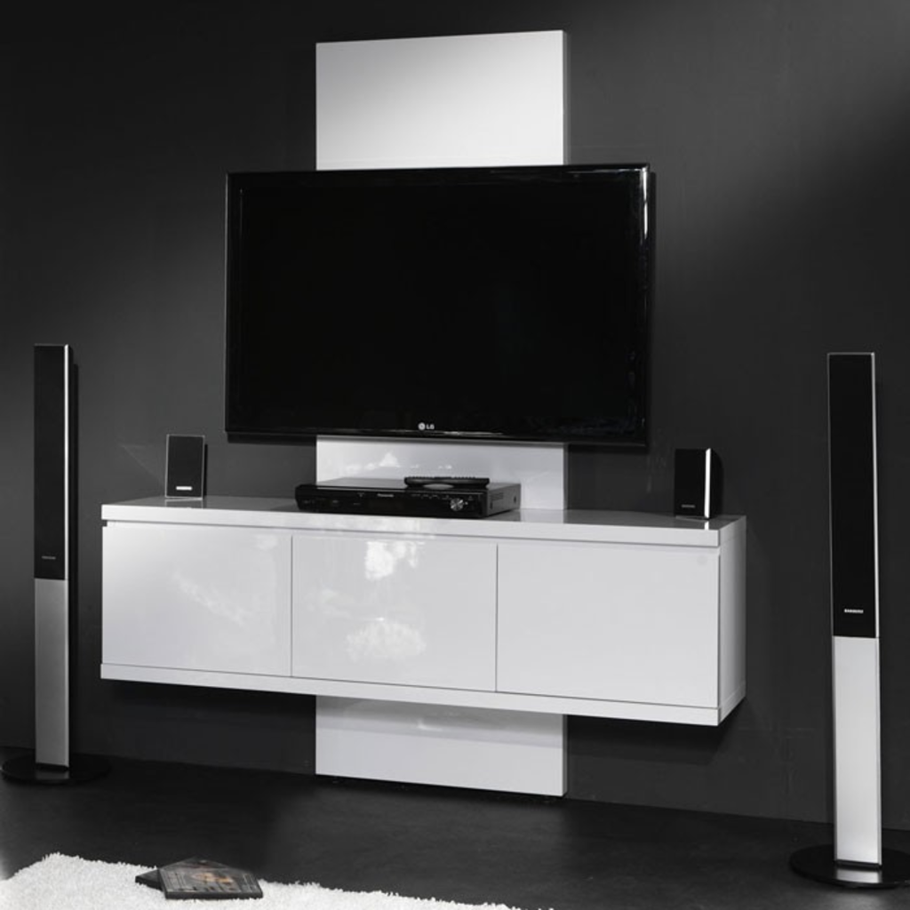 Meubeltop davidi hoogglans tv meubel kast argona van for Huiskamer meubels