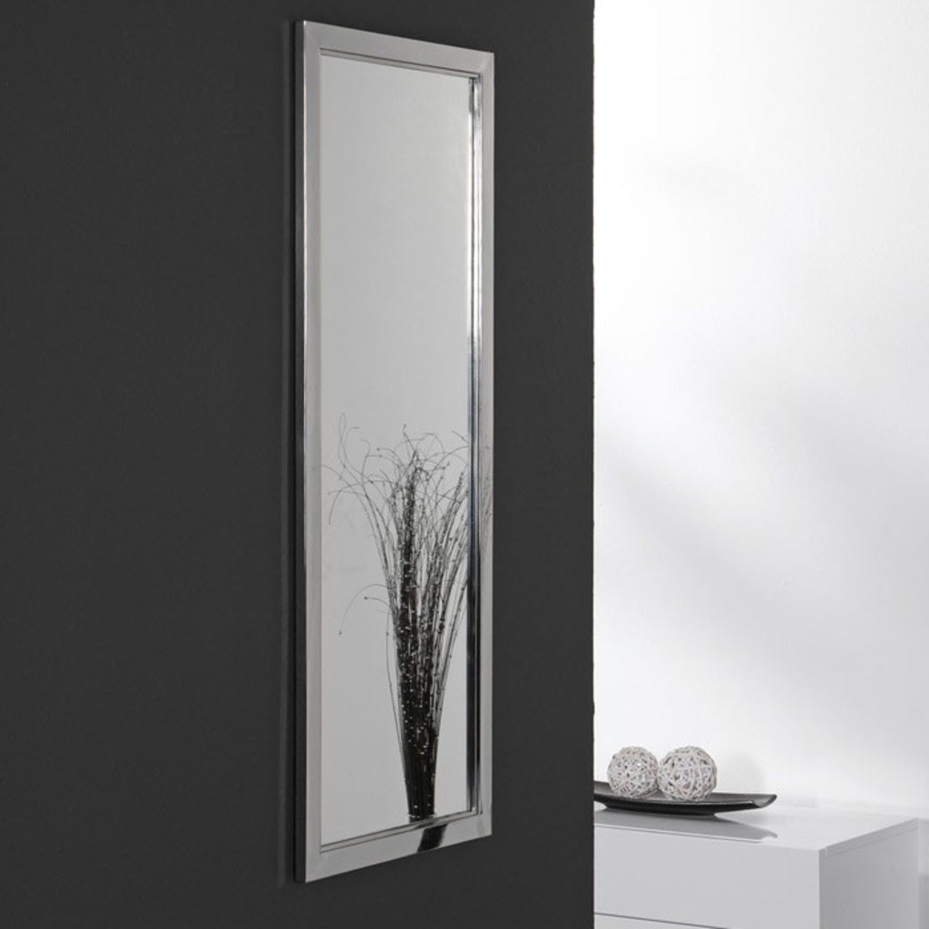 meubeltop davidi spiegel 40x100 gepolijst rvs van. Black Bedroom Furniture Sets. Home Design Ideas