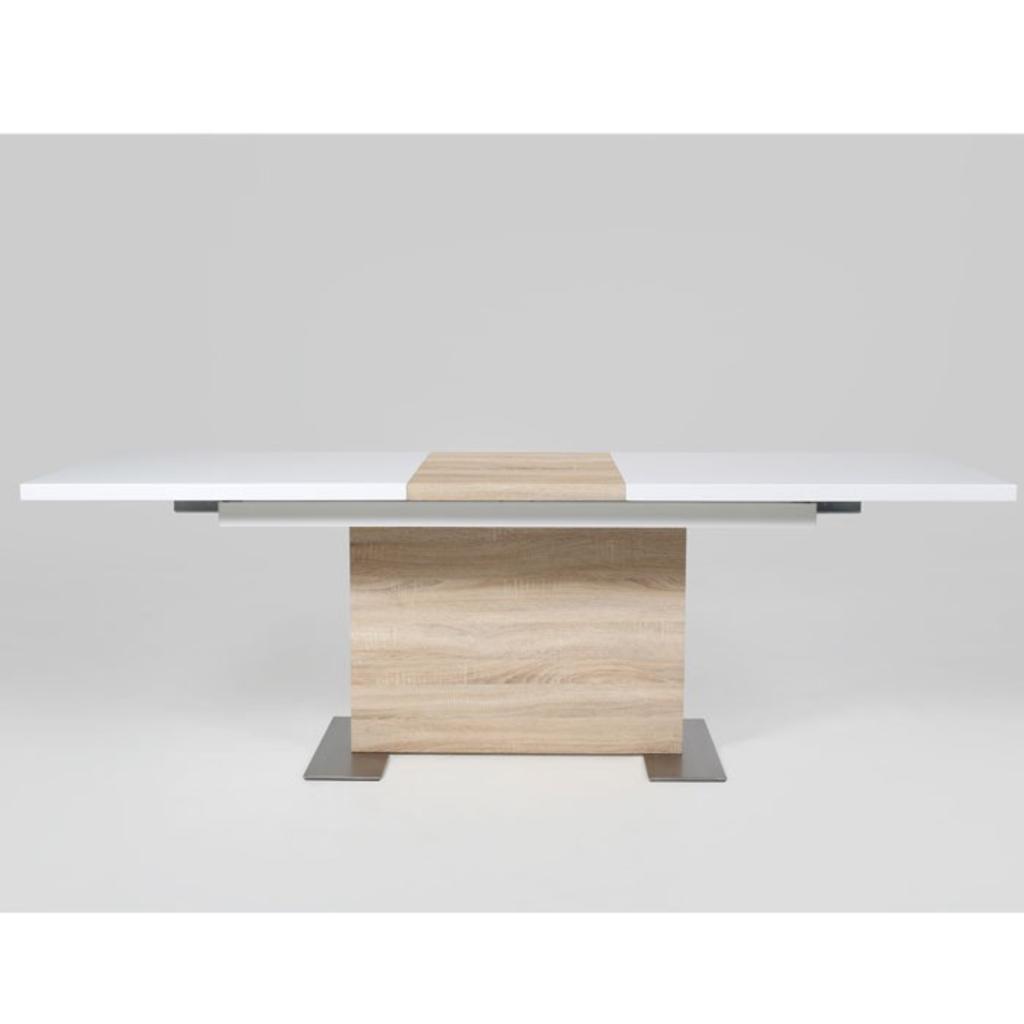 MeubelTop: Ecky Design Eetkamertafel Stone Lichtbruin van Ecky Design ...