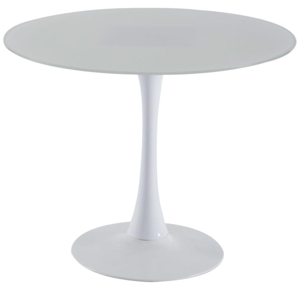 Eetkamertafel Wit Hoogglans: Eetkamertafel ovaal hoogglans wit ...
