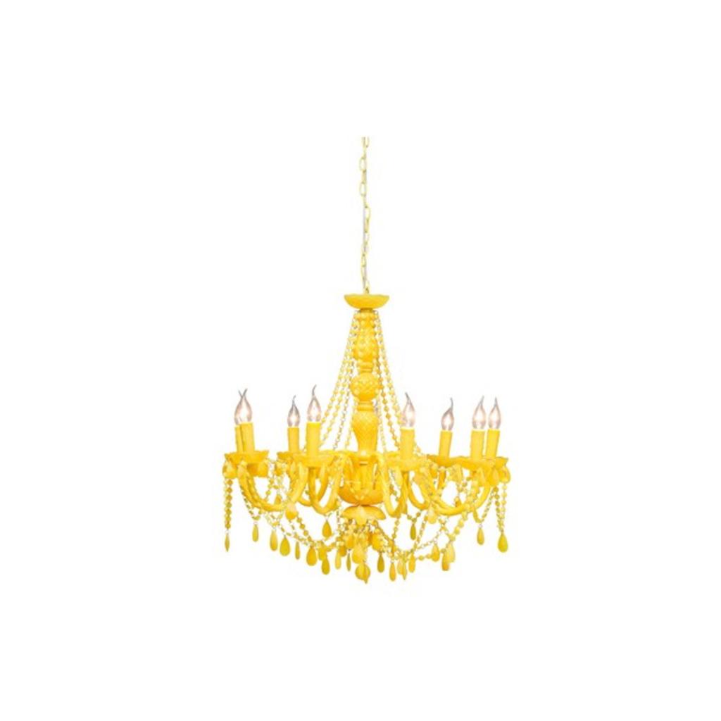 meubeltop gioiello pop kroonluchter kare design geel van kare design lampen en licht lampen. Black Bedroom Furniture Sets. Home Design Ideas