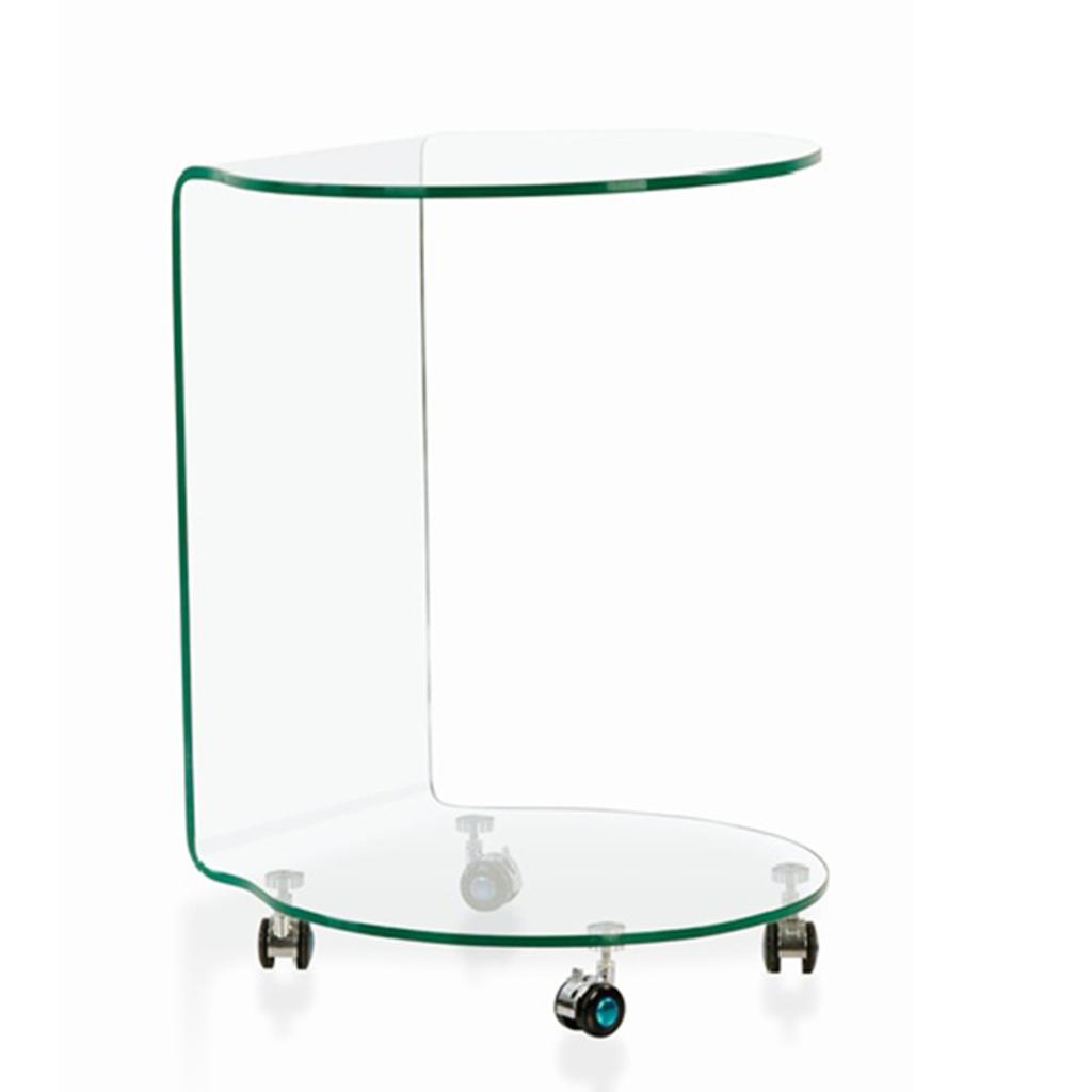 Meubeltop glazen bijzettafel tim van aspect design tafels for Aspect design