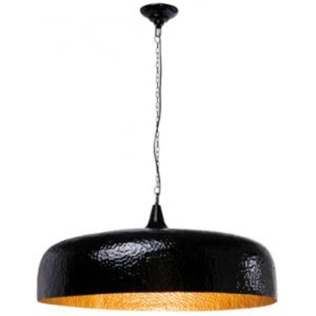 meubeltop hanglamp hammered big zwart goud kare design van kare design lampen en licht lampen. Black Bedroom Furniture Sets. Home Design Ideas