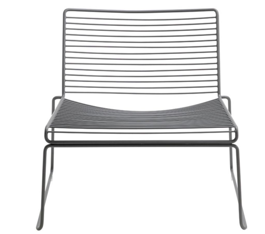 Meubeltop hay stoel hee lounge chair grijs van hay misc - Lounge grijs ...