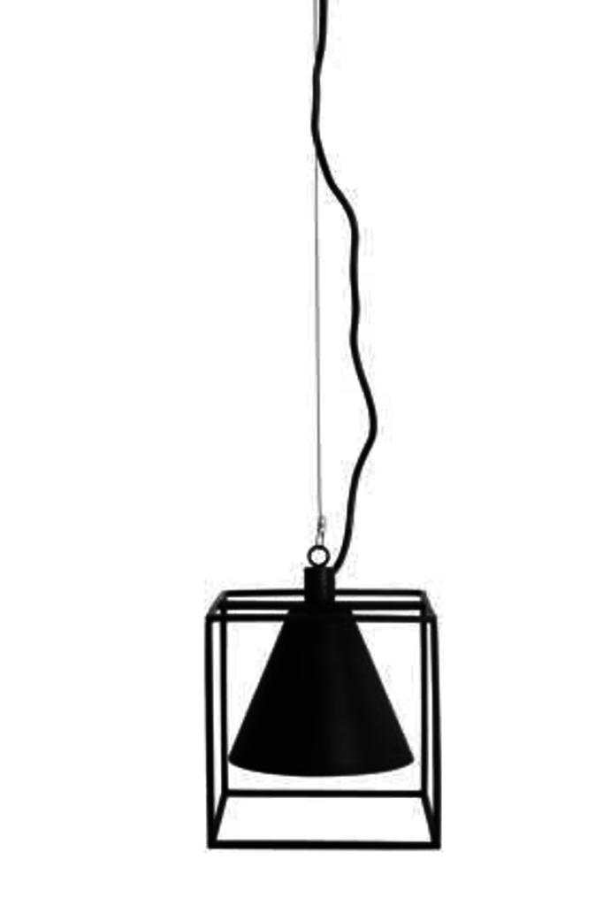 Meubeltop house doctor hanglamp zwart kubix van house for House doctor molecular hanglamp