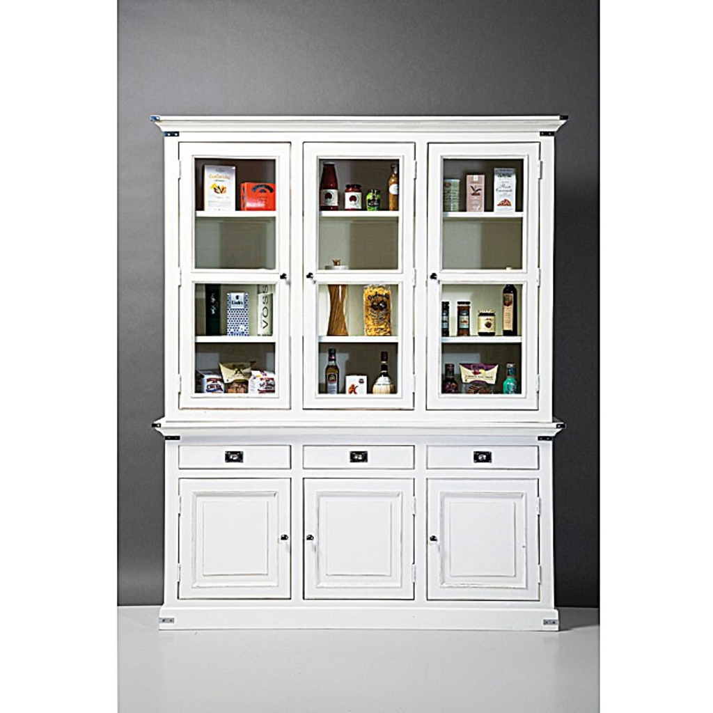 Vitrinekast Voor Keuken.Meubeltop Kare Design Albergo Vitrinekast 3 Deurs Van Kare Design