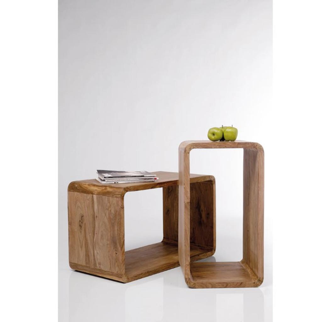 meubeltop kare design authentico cube bijzettafel set van. Black Bedroom Furniture Sets. Home Design Ideas