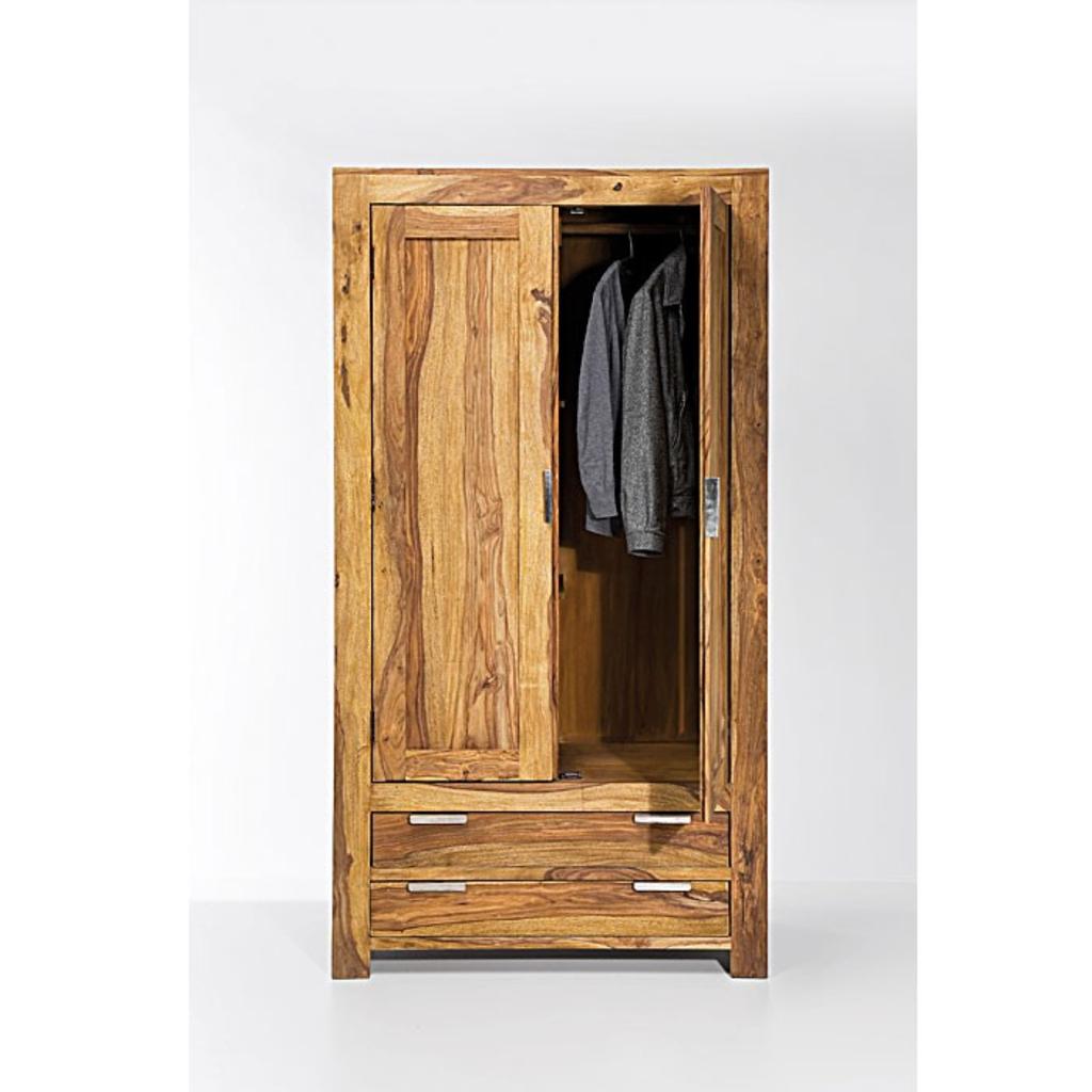 Meubeltop kare design authentico kledingkast 2 deurs van kare design kasten en inrichting kasten - Designer kledingkast ...