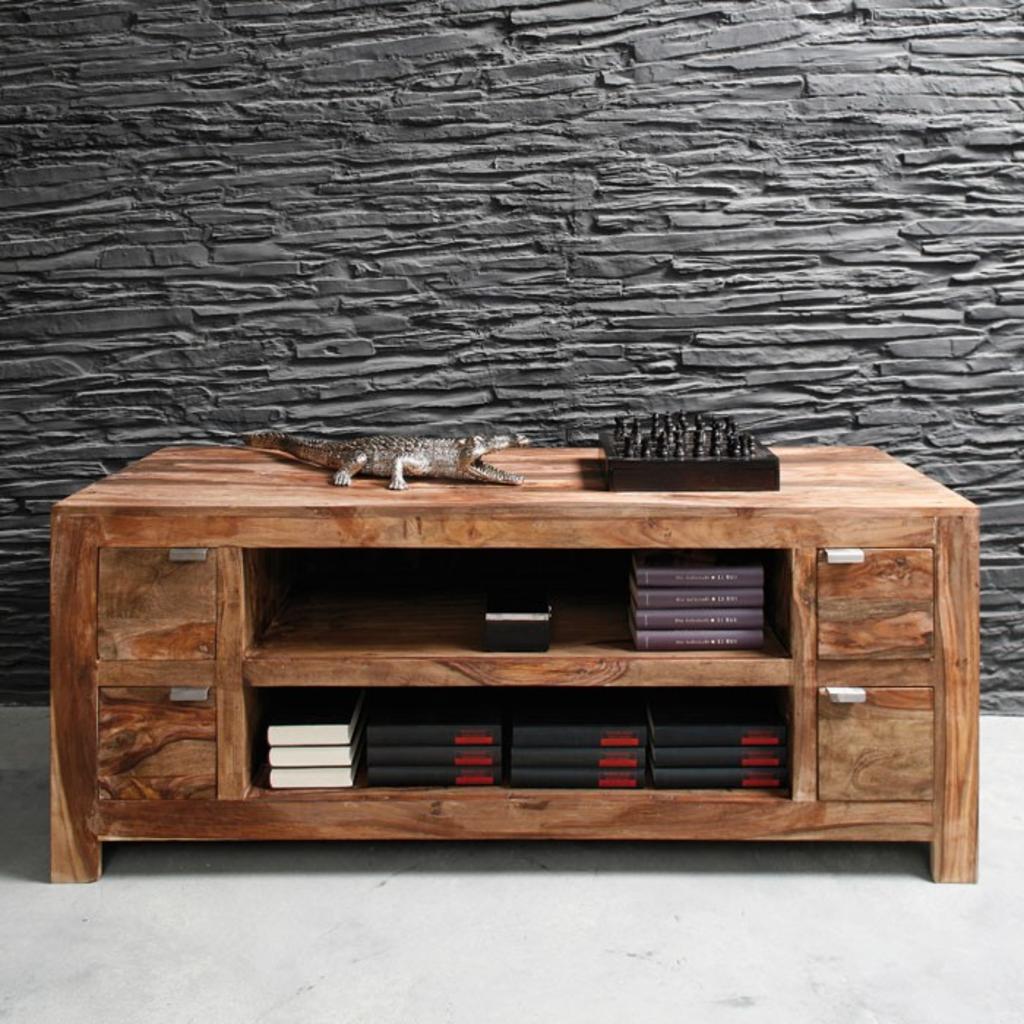 meubeltop kare design authentico tv dressoir sheeshamhout 150cm van kare design tv meubelen. Black Bedroom Furniture Sets. Home Design Ideas