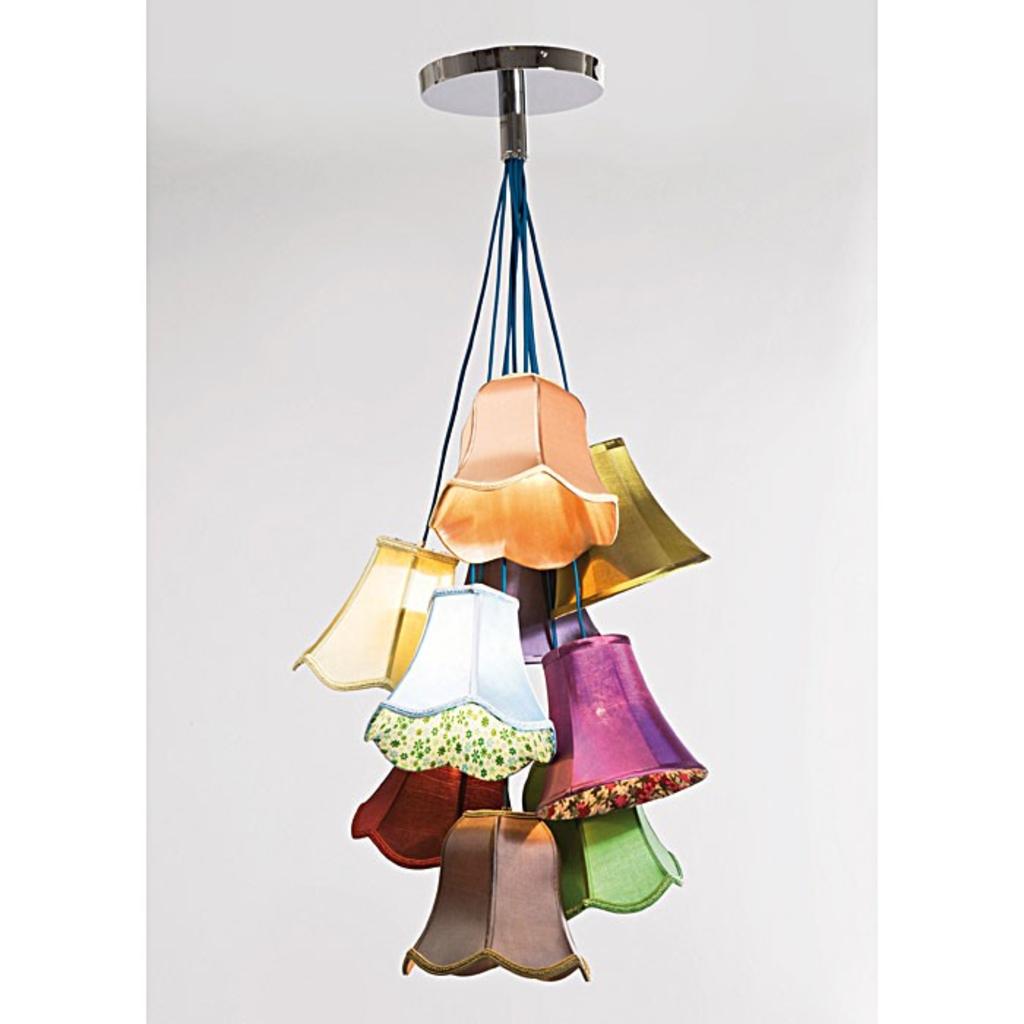 meubeltop kare design hanglamp saloon flowers 9 lamp van kare design lampen en licht lampen. Black Bedroom Furniture Sets. Home Design Ideas