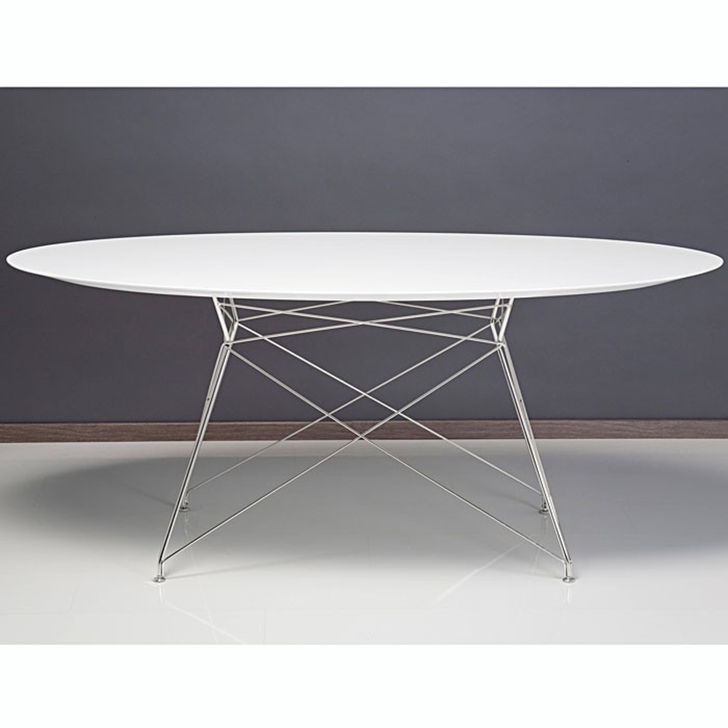 Meubeltop kare design high voltage tafel ovaal van kare for Design tafel ovaal