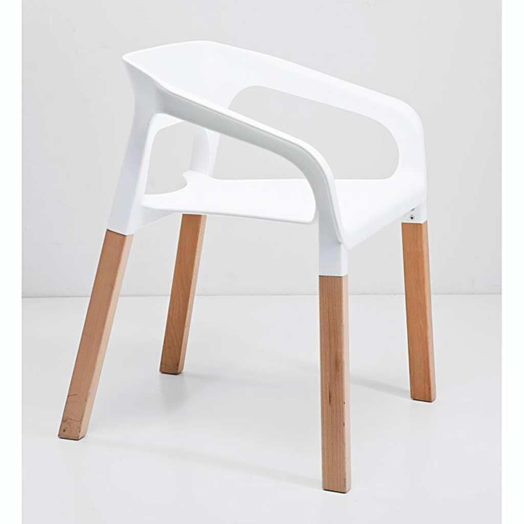 Meubeltop kare design rack stoel wit van kare design for Design stoel wit