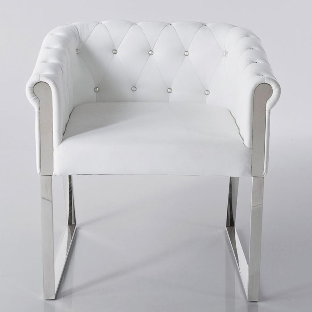 Meubeltop kare design stoel wall street wit van kare for Design stoel wit