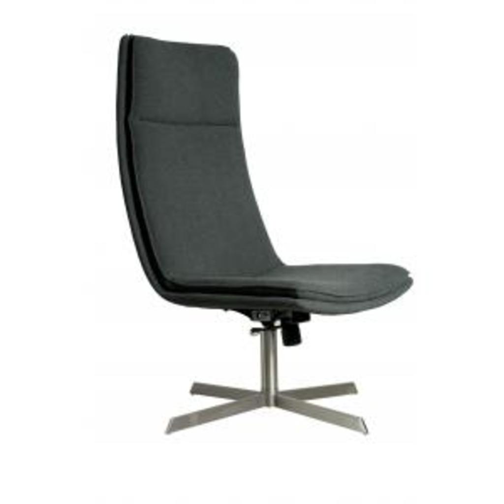 Meubeltop lounge stoel brush grijs zuiver van zuiver stoelen banken en poufs stoelen en banken - Lounge grijs ...