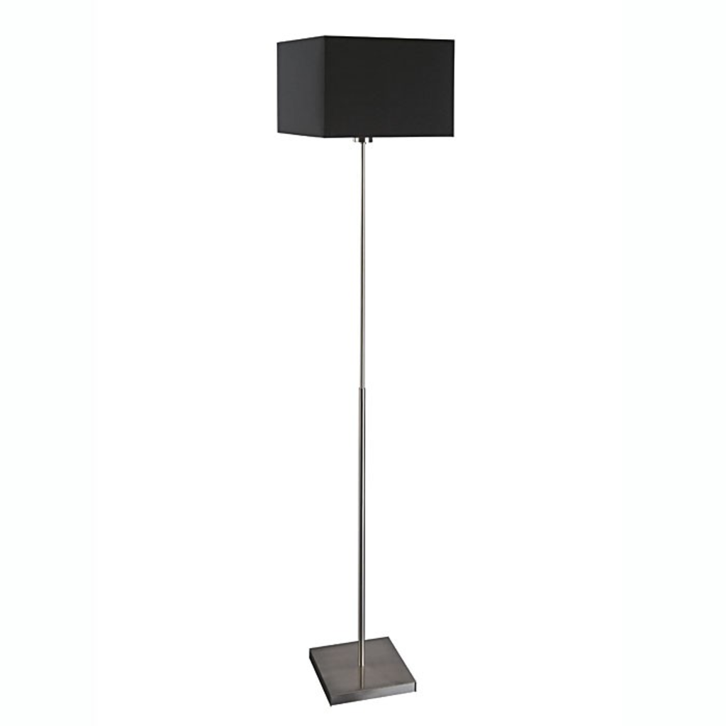 Meubeltop massive vloerlamp adrio zwart van massive for Massive lampen