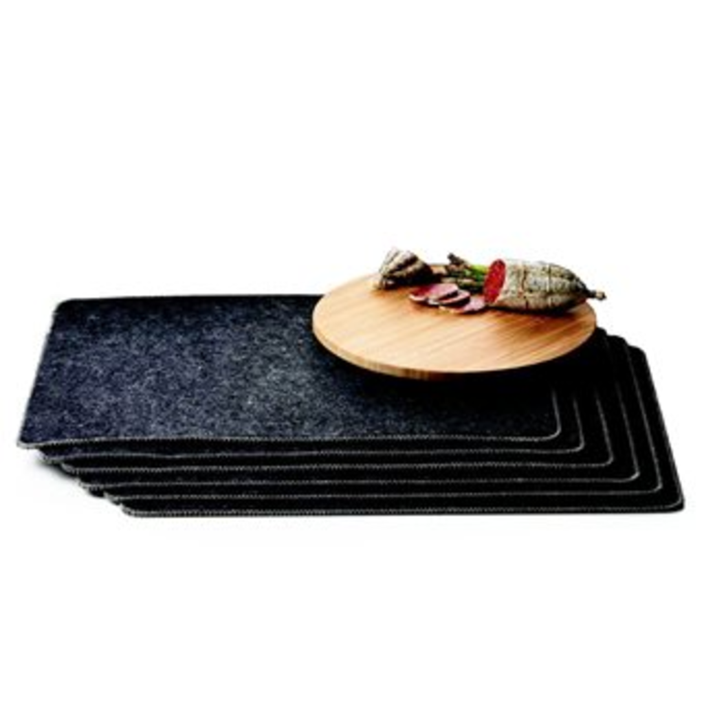 meubeltop menu new norm placemat set van 4 van menu koken tafelen. Black Bedroom Furniture Sets. Home Design Ideas