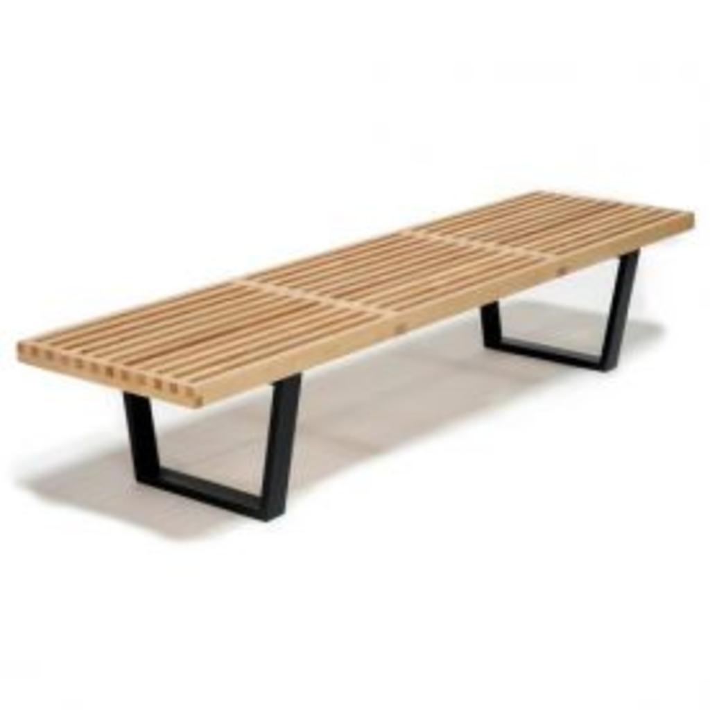 meubeltop nelson bench van vitra stoelen banken en poufs stoelen en banken. Black Bedroom Furniture Sets. Home Design Ideas