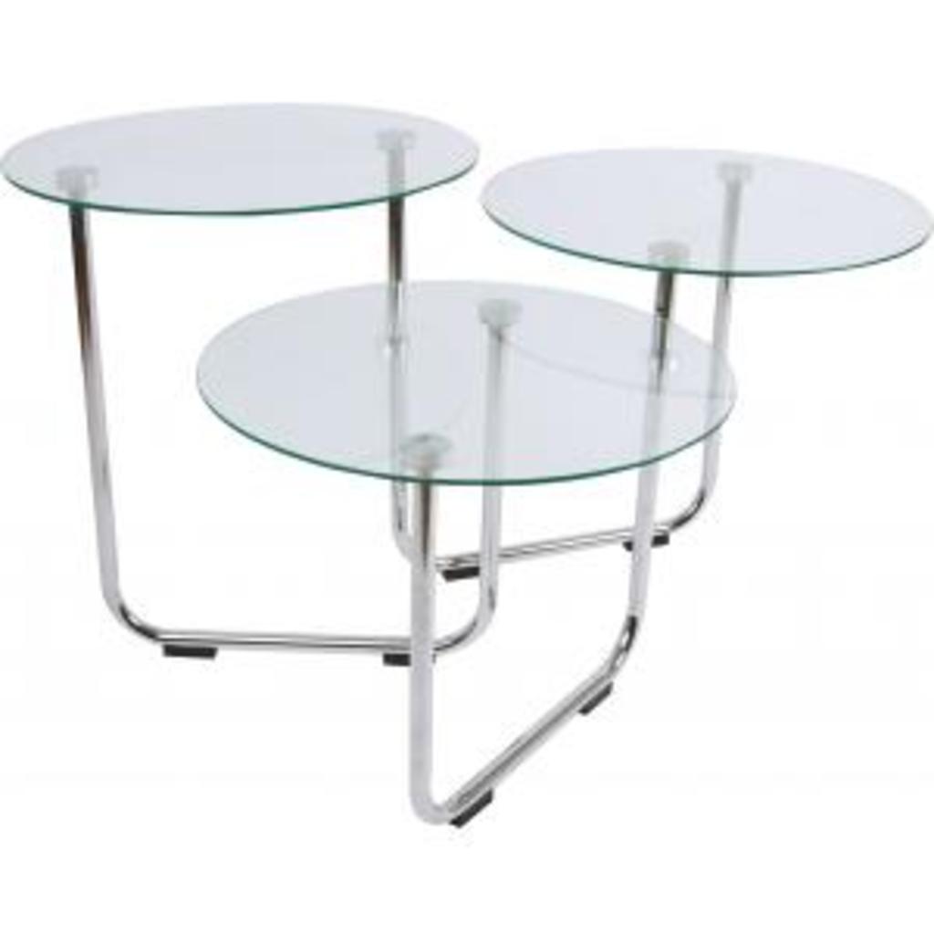 Meubeltop salontafel super swivel lm792 transparant glas leitmotiv van leitmotiv tafels - Kantoor transparant glas ...