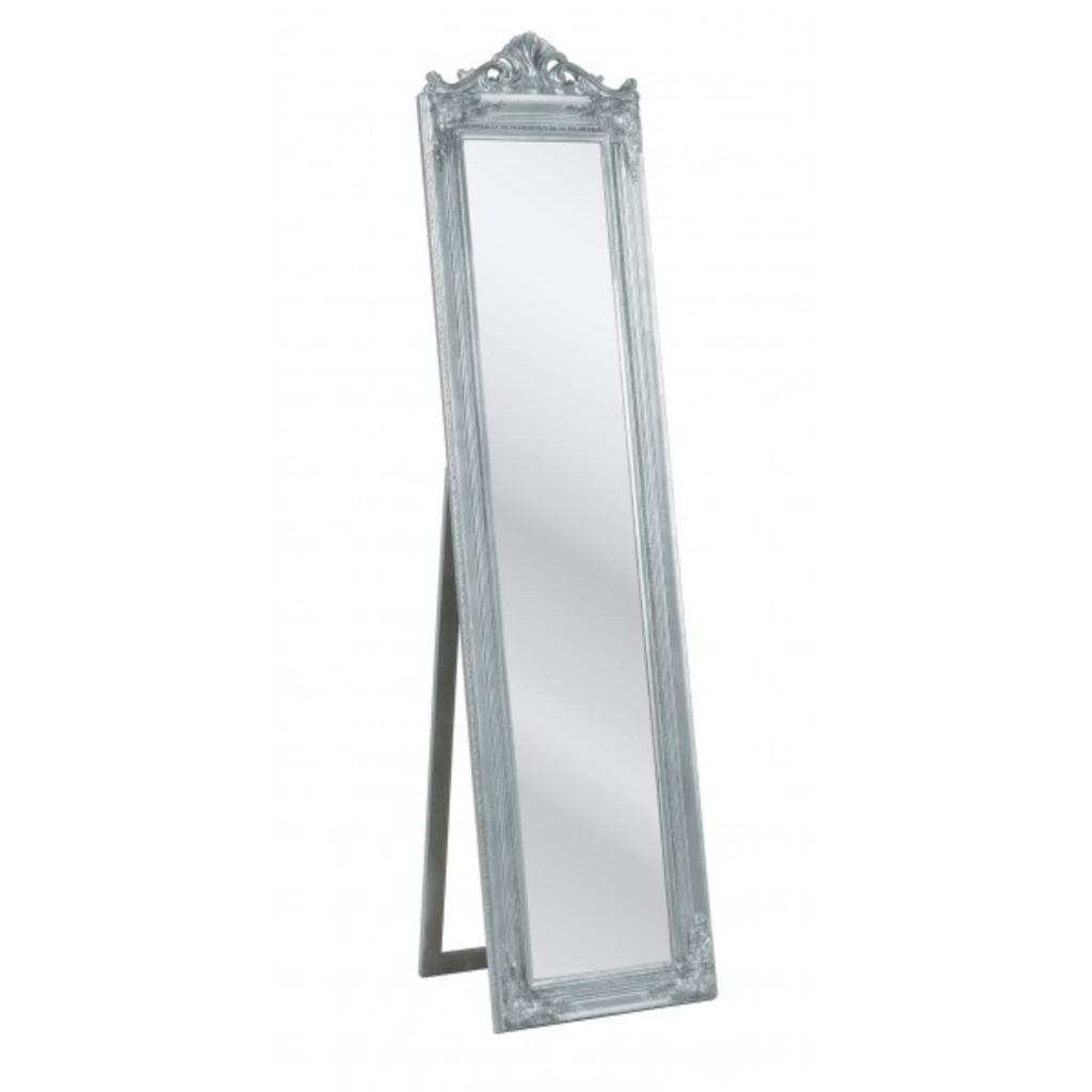 meubeltop staande spiegel barok zilver kare van robin design misc. Black Bedroom Furniture Sets. Home Design Ideas