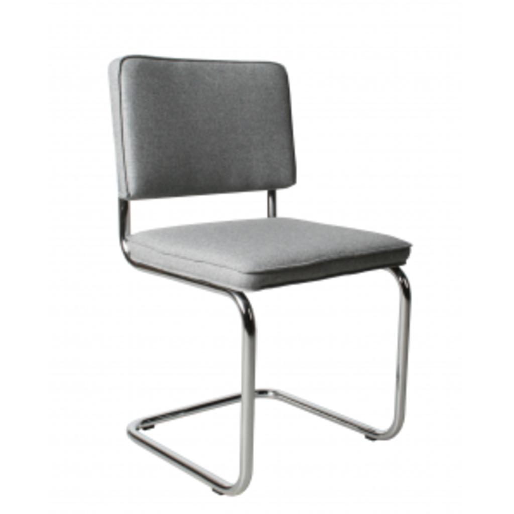 meubeltop stoel ridge vilt grijs sale van zuiver