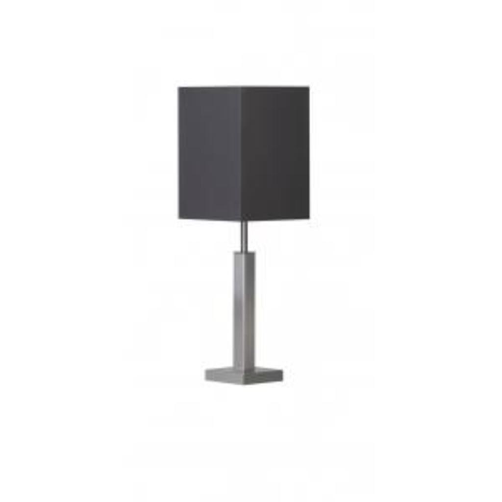 MeubelTop: Tafellamp Rvs Zwart Vierkant Klein Bony Design (op = Op ...