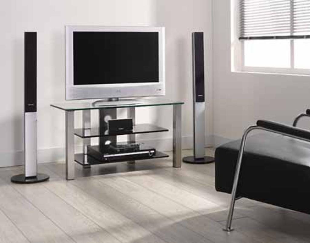 Tv tafel glas. elegant stralex tv verhoger glas maxi with tv tafel