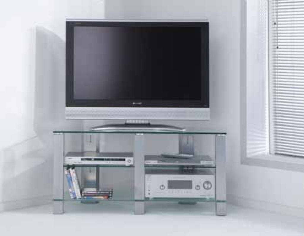meubeltop tv meubel loris glas 107 cm van meubelsplaza misc. Black Bedroom Furniture Sets. Home Design Ideas