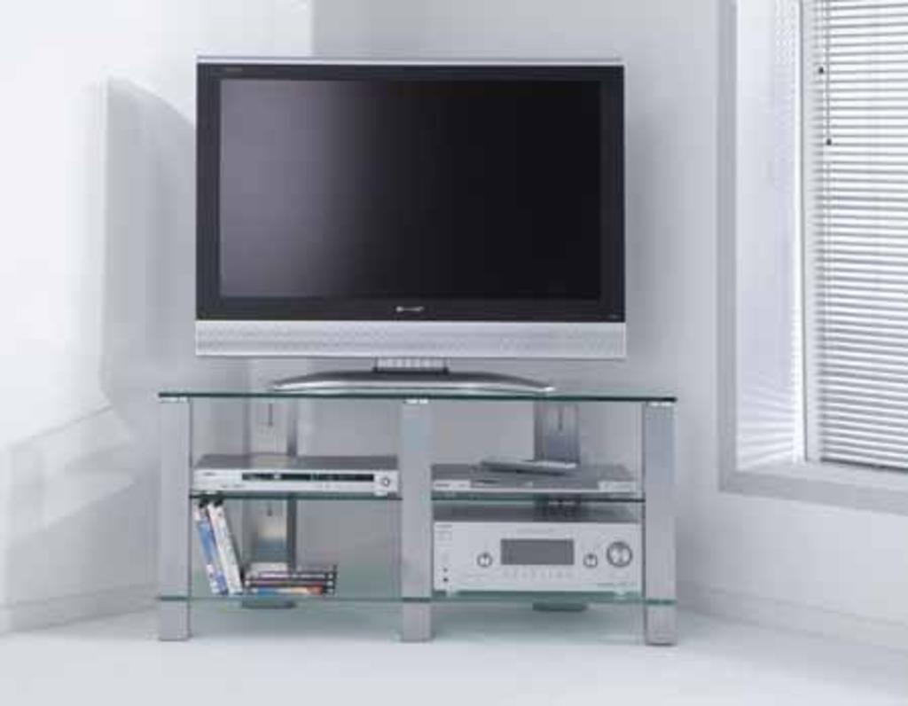 meubeltop tv meubel loris glas 107 cm van meubelsplaza misc. Black Bedroom Furniture Sets. Home Design Ideas