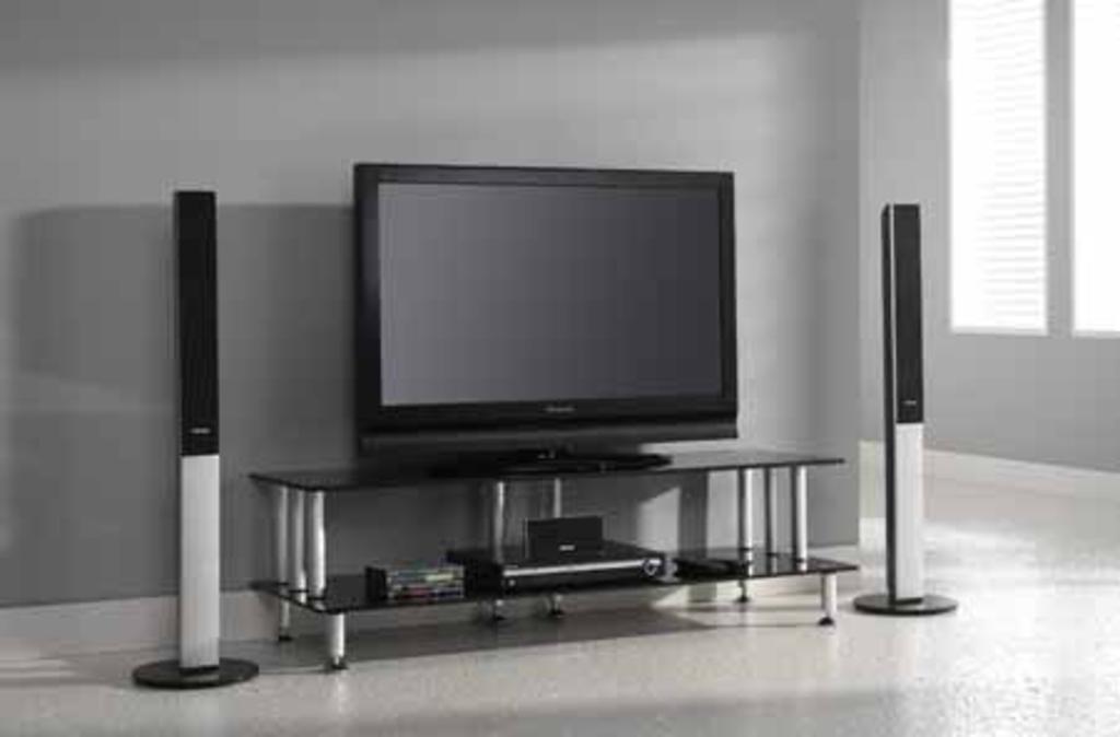 Meubeltop tv meubel pina zwart glas 140 cm van for Tv meubel glas