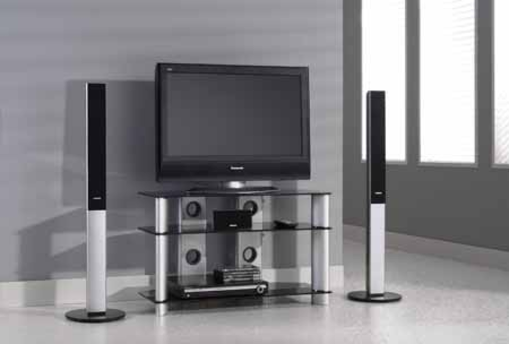 meubeltop tv meubel romina zwart glas 90 cm van meubelsplaza misc. Black Bedroom Furniture Sets. Home Design Ideas
