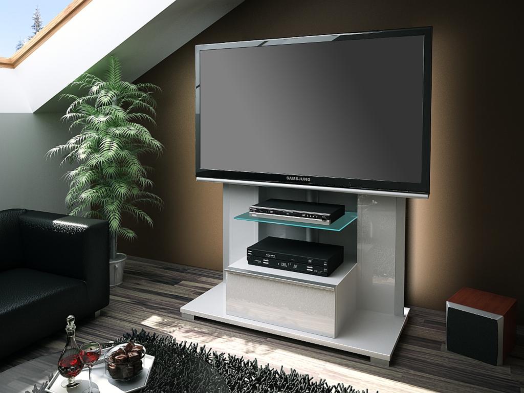 Meubeltop tv meubel torino hoogglans wit van hubertus for Huiskamer meubels