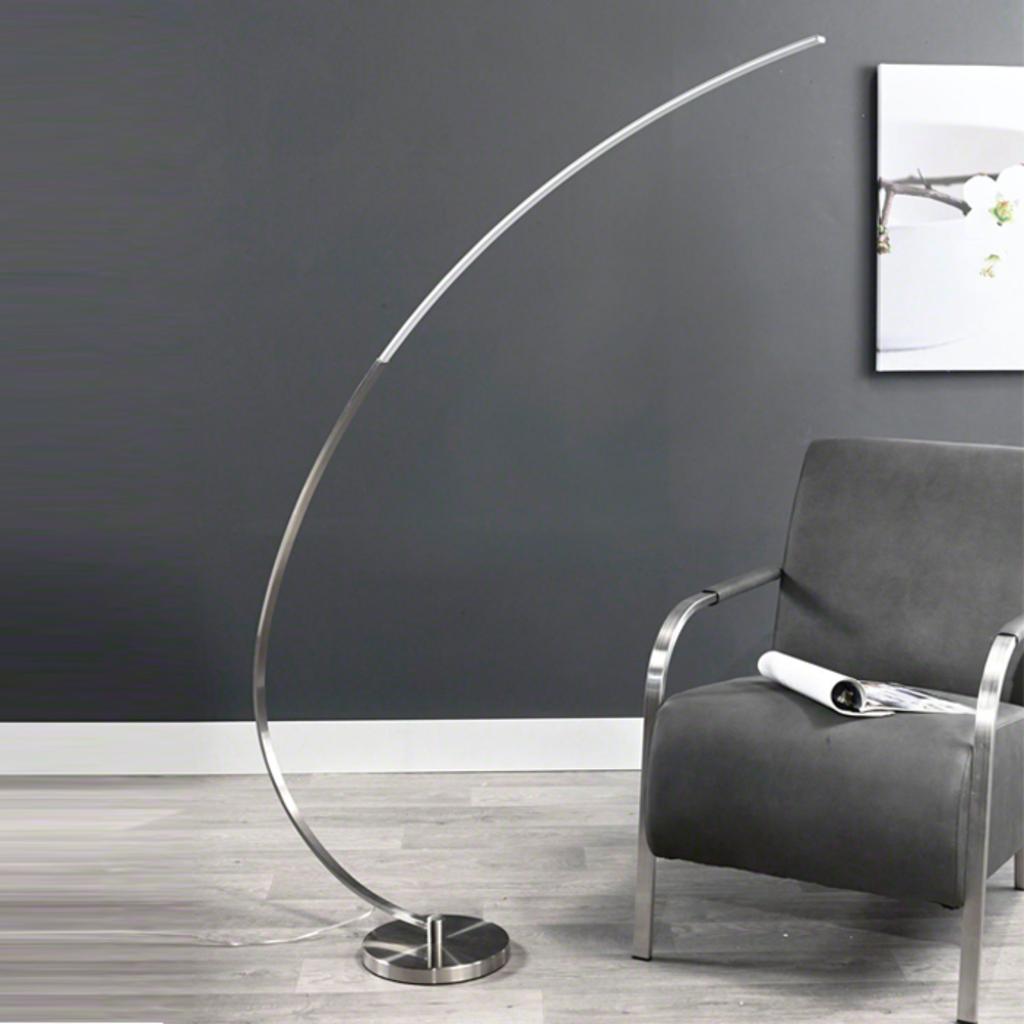 Meubeltop vloerlamp boog van aspect design lampen en for Aspect design