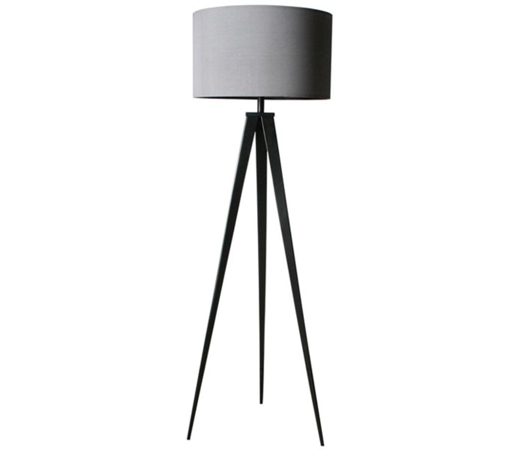 meubeltop vloerlamp tripod grijs van fundesign lampen en licht lampen. Black Bedroom Furniture Sets. Home Design Ideas