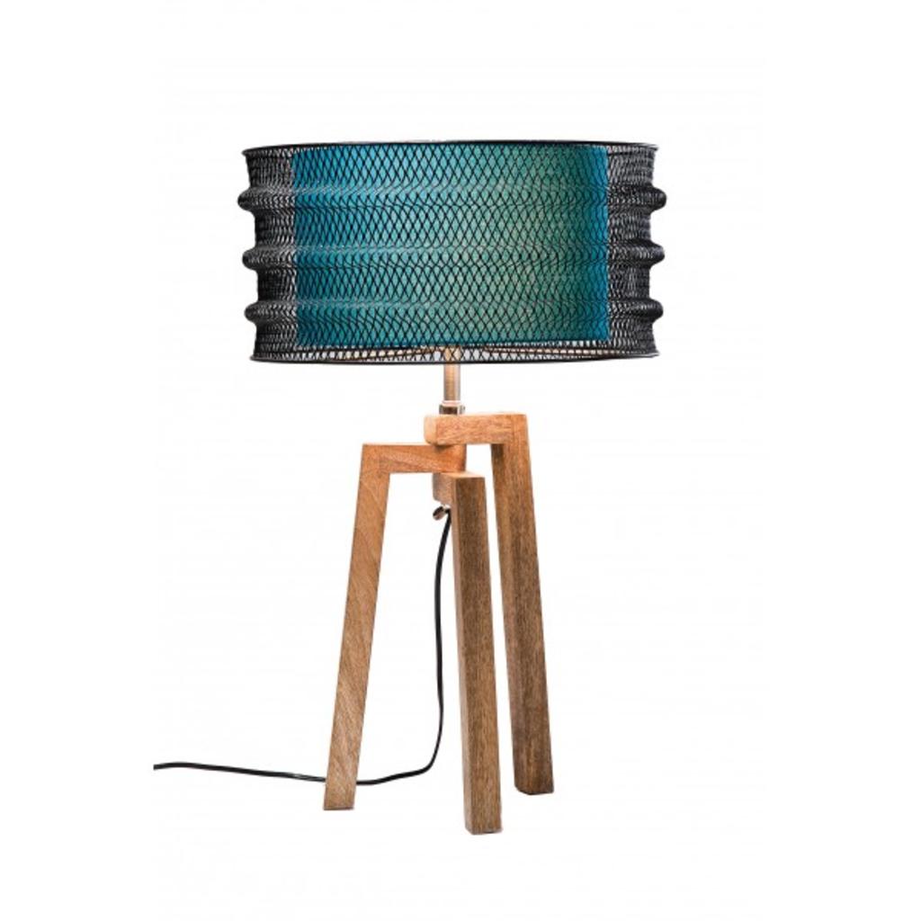meubeltop wire tripod lamp klein kare blauw van kare design lampen en licht lampen. Black Bedroom Furniture Sets. Home Design Ideas