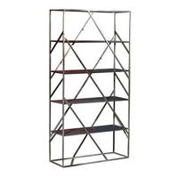 MeubelTop: Boekenkast Kyan - Zwart/naturel - 180x120x40 Cm van Leen ...