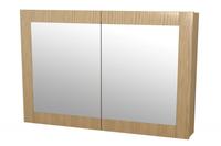 Leen Bakker Spiegel : Meubeltop badkamer bovenkast river met spiegel eiken van leen