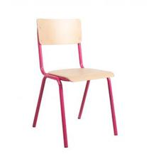 Meubeltop back to school stoel roze van lilians house for Merk stoelen