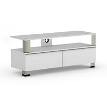 Meubeltop tv meubel tura hoogglans wit van elmob tv for Huiskamer meubels